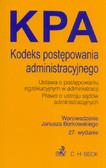 Borkowski Janusz - Kodeks postępowania administracyjnego