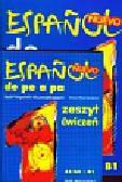 Wawrykowicz Anna - Espanol de pe a pa Język hiszpański dla początkujących podręcznik z ćwiczeniami z płytą CD