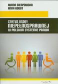 Sierpowska Iwona, Kogut Anna - Status osoby niepełnosprawnej w polskim systemie prawa