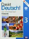Kamińska Jolanta - Das ist Deutsch! 3 Podręcznik + 2 CD. Język niemiecki. Gimnazjum