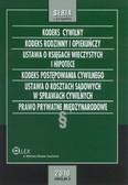 Opracowanie zbiorowe - Kodeks cywilny. Kodeks rodzinny i opiekuńczy. Ustawa o księgach wieczystych i hipotece. Kodeks postę