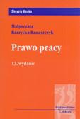 Barzycka-Banaszczyk Małgorzata - Prawo pracy