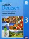 Mróz Sylwia - Das ist Deutsch 3 Poradnik metodyczny + 2 CD Język niemiecki dla gimnazjum