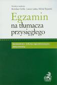 Egzamin na tłumacza przysięgłego