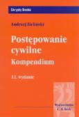 Zieliński Andrzej - Postępowanie cywilne Kompedium