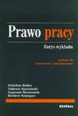 Kubot Zdzisław, Kuczyński Tadeusz, Masternak Zygmunt, Szurgacz Herbert - Prawo pracy. Zarys wykładu