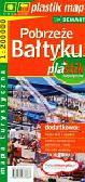Pobrzeże Bałtyku mapa turystyczna laminowana
