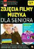 Zdjęcia filmy muzyka dla seniora z płytą CD