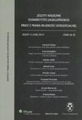 --- - Prace z prawa własności intelektualnej. Zeszyt 2 (108) 2010
