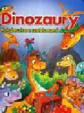 Dinozaury Książeczka z szablonami