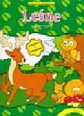 Leśne zwierzęta Zabawy z naklejkami