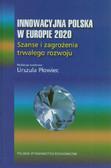 Płowiec Urszula - Innowacyjna Polska w Europie 2020