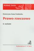 Dadańska Katarzyna Anna - Prawo rzeczowe
