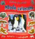 Grez Marcela - Chcę poznać Młode zwierzęta Książka z naklejkami