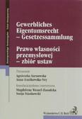 Prawo własności przemysłowej zbiór ustaw Tekst dwujęzyczny. wydanie polsko - niemieckie