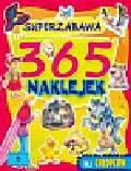 365 naklejek dla chłopców Superzabawa