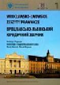 Wrocławsko lwowskie zeszyty prawnicze 1