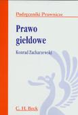 Zacharzewski Konrad - Prawo giełdowe