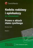 Czech Bronisław - Kodeks rodzinny i opiekuńczy ze schematami Prawo o aktach stanu cywilnego