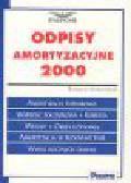 Jędrzejewska K. - Odpisy amortyzacyjne 2000