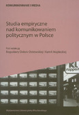 Studia empiryczne nad komunikowaniem politycznym w Polsce