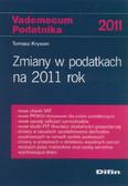 Krywan Tomasz - Zmiany w podatkach na 2011 rok