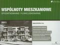 Fila Małgorzata - Wspólnoty mieszkaniowe - opodatkowanie i funkcjonowanie 2011