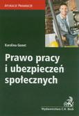 Gonet Karolina - Prawo pracy i ubezpieczeń społecznych. Aplikacje prawnicze
