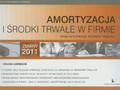 Garbacik Halina - Amortyzacja i środki trwałe w firmie. Nowa klasyfikacja środków trwałych. Zmiany 2011