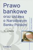Prawo bankowe oraz ustawa o Narodowym Banku Polskim