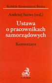 red. Szewc Andrzej - Ustawa o pracownikach samorządowych. Komentarz