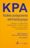 Kodeks postępowania administracyjnego. Ustawa o postępowaniu egzekucyjnym w administracji, Prawo o ustroju sądów administracyjnych
