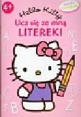 Hello Kitty Ucz się ze mną literek. książeczka z naklejkami 4+