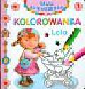 Beaumont Emilie, Belineau Nathalie, Brassart Rene - Lola Kolorowanka Mała dziewczynka 1