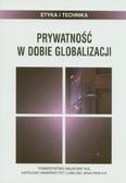 red. Chyrowicz Barbara - Prywatność w dobie globalizacji
