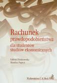 Denkowska Sabina, Papież Monika - Rachunek prawdopodobieństwa dla studentów studiów ekonomicznych