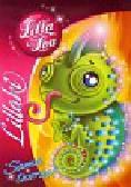 Lillaki Lilla Lou Sama tworzę Kameleon. Kolorowanka