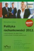 Cellary Mieczysława - Polityka rachunkowości 2011 z komentarzem do planu kont w jednostkach finansów publicznych