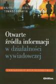 Liedel Krzysztof, Serafin Tomasz - Otwarte źródła informacji w działalności wywiadowczej