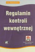Majsterkiewicz Irena - Regulamin kontroli wewnętrznej (książka z suplementem elektronicznym)