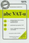 Markowski Włodzimierz - ABC VAT-u 2011