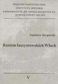 Sierpowski Stanisław - Rasizm faszystowskich Włoch