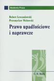 Lewandowski Robert, Wołowski Przemysław - Prawo upadłościowe i naprawcze