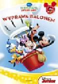 Klub przyjaciół Myszki Miki Wyprawa balonem. Czytanka wyklejanka