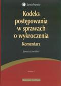 Lewiński Janusz - Kodeks postępowania w sprawach o wykroczenia Komentarz