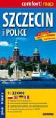 Szczecin i Police plan miasta  1:22 000