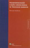 Steinborn Sławomir - Prawomocność części orzeczenia w procesie karnym