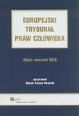 Nowicki Marek Antoni - Europejski Trybunał Praw Człowieka Wybór Orzeczeń