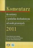 Nykiel Włodzimierz, Mariański Adam (red.) - Komentarz do ustawy o podatku dochodowym od osób prawnych 2011