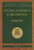 red. Kuryłowicz Marek - Studia Iuridica Lublinensia t. XIV